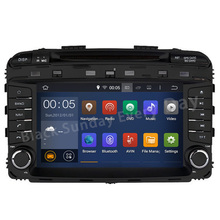Free Camera ROM 16G 1024*600 Quad Core Android 5.1.1 Fit KIA SORENTO 2015 2016 Car DVD Player head unit stereo GPS TV 3G Radio