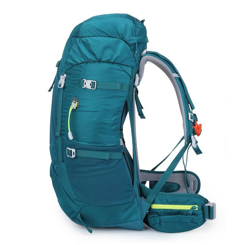 Image 3 - NEVO RHINO 50L Waterproof Mens Backpack Unisex travel pack bag  hiking Outdoor Mountaineering Climbing Camping backpack for  maleBackpacks