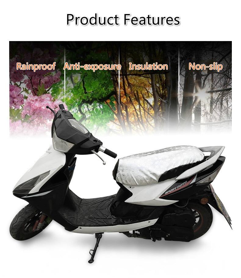 Peças da motocicleta universal e-bike scooter respirável