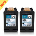 Listing Hot Brand For HP 61XL Black Inkjet Premium High Yield Ink Cartridge for HP 61 & for HP 61XL - CH563WN CH564WN (2 PACKS)