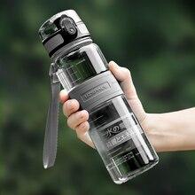 בקבוקי מים 500/1000ml BPA משלוח אכר חיצוני ספורט סיור לשתות בקבוק נייד Leakproof Ecofriendly פלסטיק פירות תה בקבוק