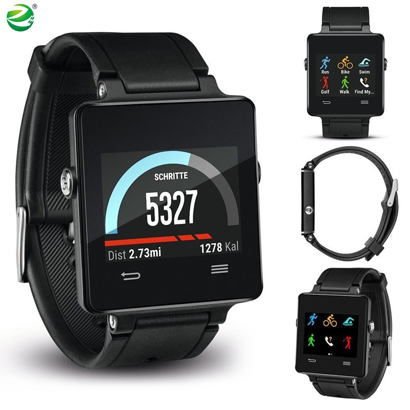 ZycBeautiful pour Garmin vivoactive Courir Piscine Golf Équitation GPS Montre Smart Watch