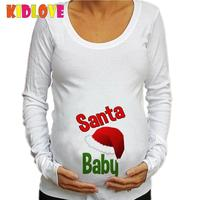 1a5d4718 Kidlove Pregnant T-shirt Top Tees O-neck Long Sleeve T Shirt Round Collar