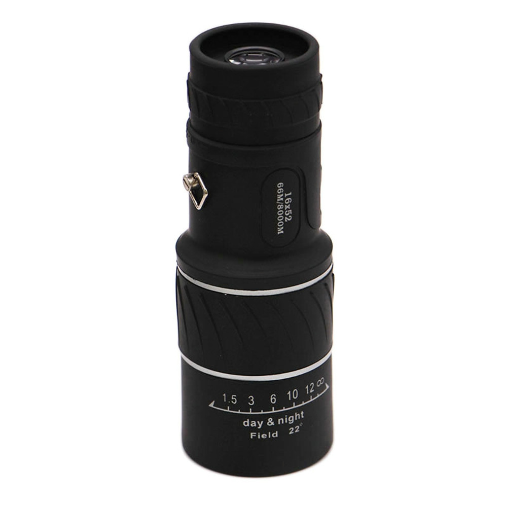 Image 5 - HD 16x52 Dual Focus Zoom Optical Night and Day Vision Monocular single Telescope Mini Portable Military Zoom Travel Hunting 5.29-in Monocular/Binoculars from Sports & Entertainment