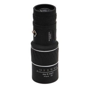 Image 5 - HD 16x52 podwójny ostrości Zoom optyczny dzień i noc wizji monokularowy pojedynczy teleskop Mini przenośne wojskowe Zoom podróży polowanie 5.29