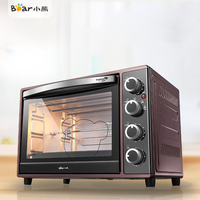 Bear DKX A38A1 Home Multifunction Baking Electric Oven Independent Temperature Control Piano Paint Surface 38L Large