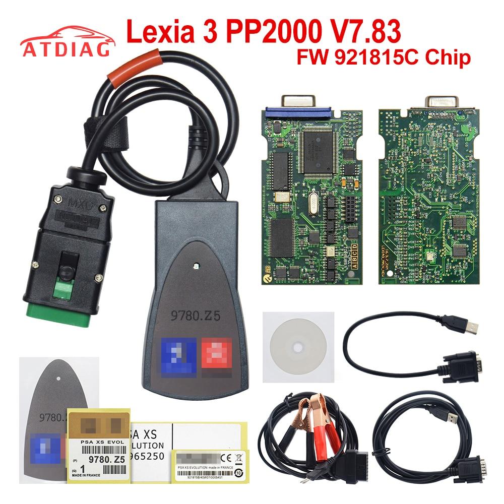 2018 Lexia3 Diagnostic Tool Lexia 3 V48 Pp2000 For Citroen