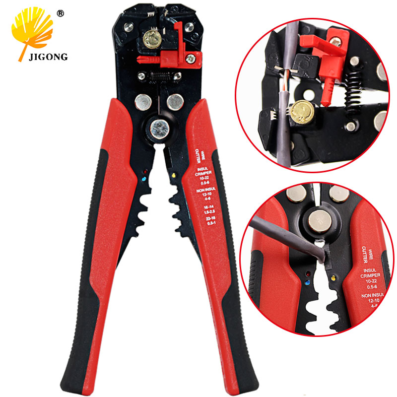 High Quality Multi Functional Automatic Cable Wire Stripper Plier Self Adjust Crimper Terminal Tool Cutting Crimping Stripping automatic cable wire stripper plier adjusting crimper terminal tool rasp dremel 2016
