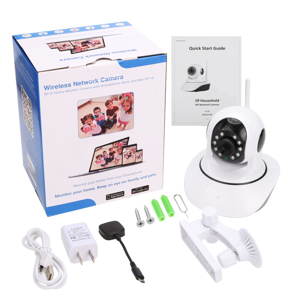 OwlCat Ασύρματο 1080p 720p HD IP κάμερα WiFi Dome IR - Ασφάλεια και προστασία - Φωτογραφία 6