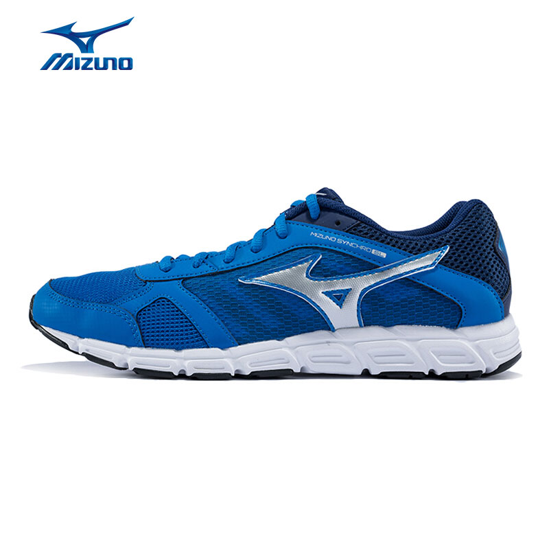 MIZUNO Men's SYNCHRO SL Jogging Running Shoes Mesh Breathable Cushioning Light Weight Sneakers Sports Shoes J1GE162803 XYP375 point break children weight running shoes men breathable mesh jogging shoes tide travel shoes