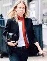 2016 Мода Тощий Шарф Вискоза Шелковые Шарфы Женщины Леди Длинный Узкий Тонкий Лето Осень Подиум Стиль Шарф