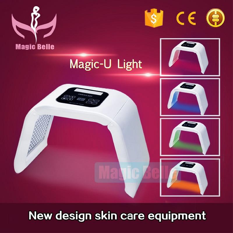 Наиболее Популярные Продукты/led маска Anti Aging 4 цвет pdt профессиональный Omega фототерапии машины/с преподавания видео