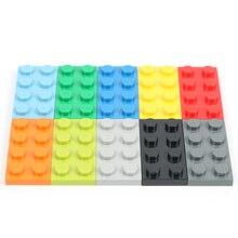 2X8 Birkcs 100 g/lote DIY Peças de Blocos de Construção Bloco de Construção de auto-Travamento Birkcs Modelo Figura Edifício Eduational brinquedos