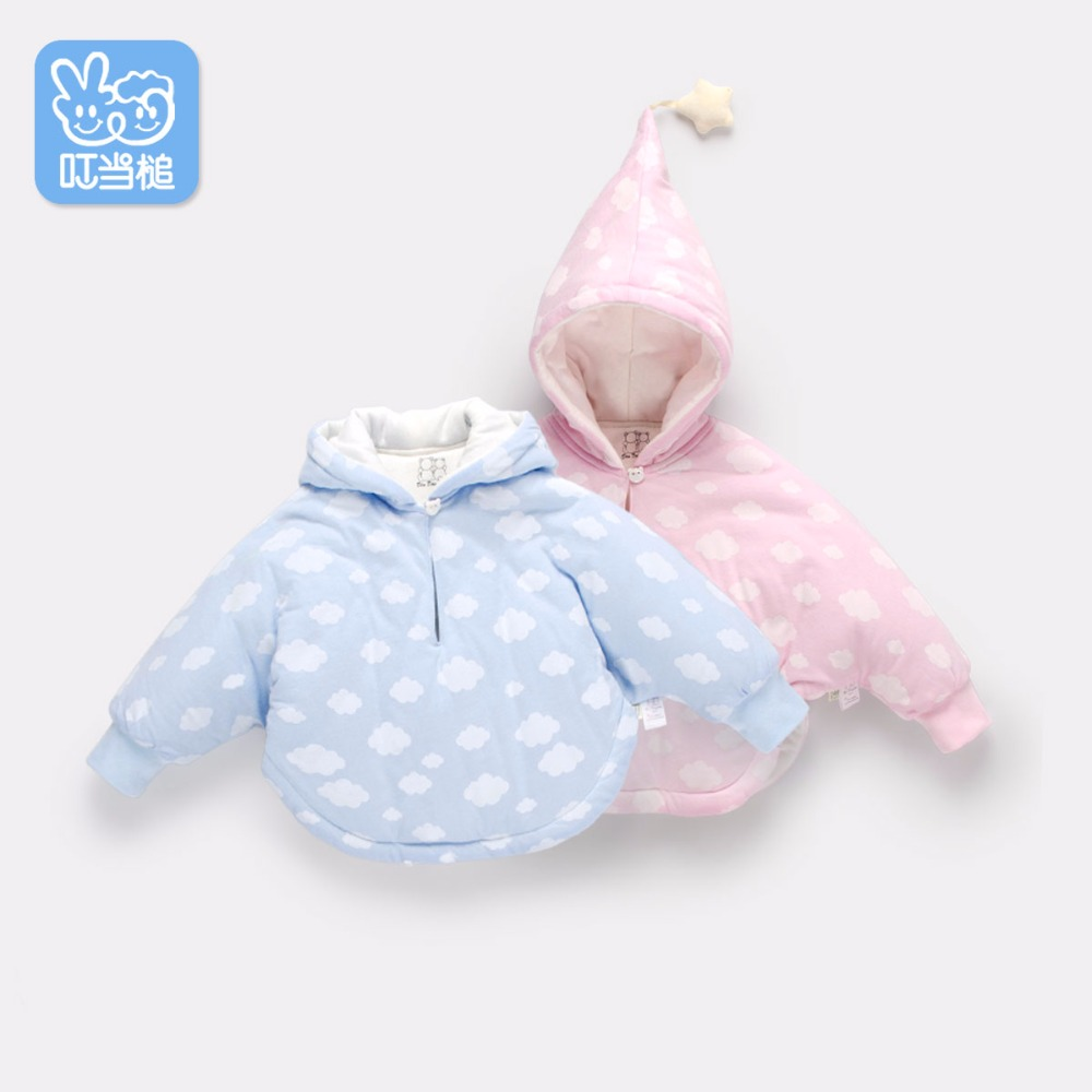 Dinstry 소년 소녀면 가을 겨울 후드 코트 어린이 재킷 - 아동복 - 사진 2