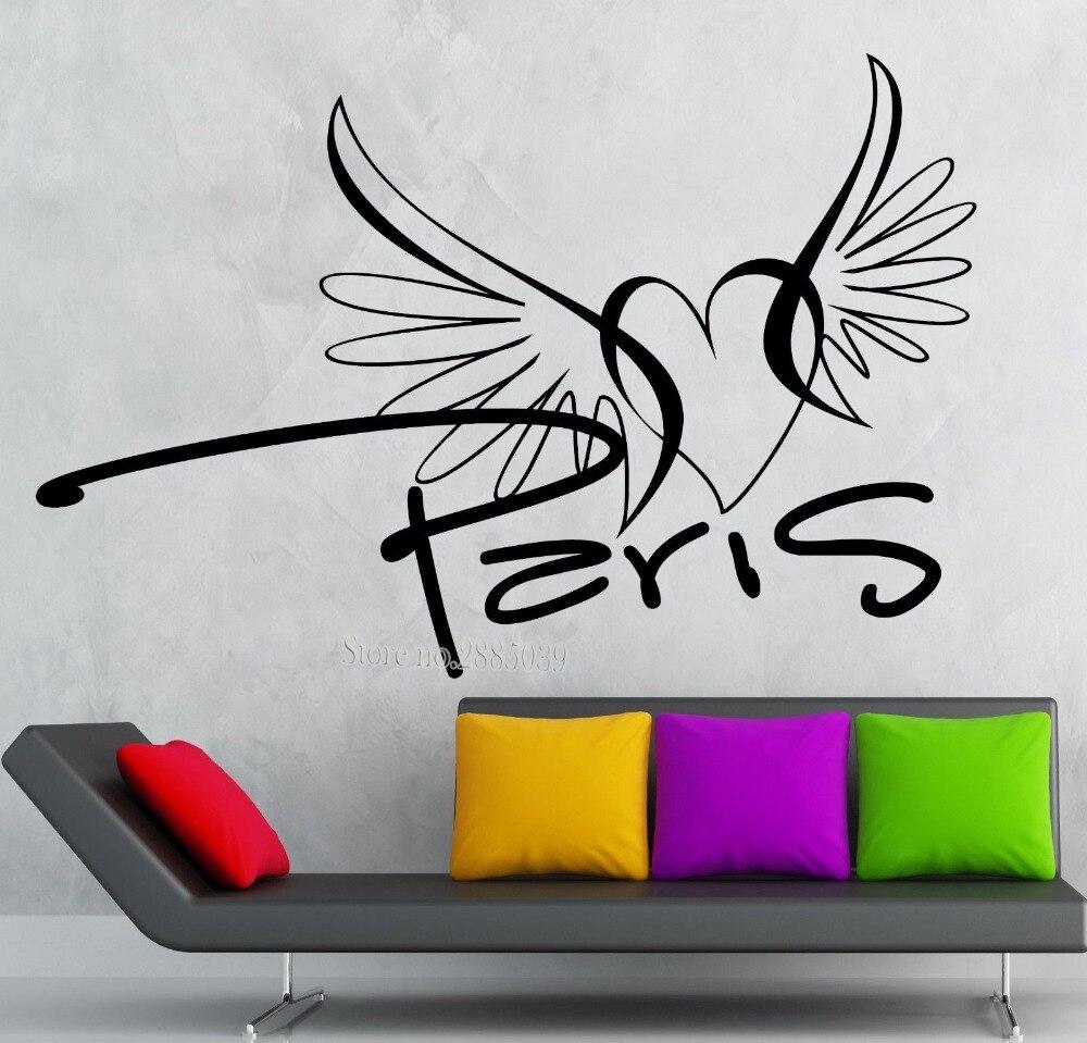 Renkli oturma gruplari 5 quotes - Duvar Kartmalar T Rnaklar Paris Vinil Kartmas Fransa Seyahat Romantik A K Kalp Odas Kartmas Sanat Duvar D Vme