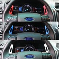 2 unids 5 COLORES Cambio Shifter de Extensión Adicional En El Volante DSG Paletas para NUEVA Ford Explorer 2016 2017