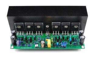 Image 2 - Assembled L15 2 channels MOSFET power amplifier board with heatsink