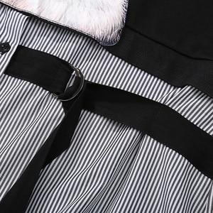 Image 5 - Novo plus size 2020 mulheres outono inverno kawaii cartoon camisa vestido gato impresso manga longa senhora casual bonito vestido midi estilo 3936