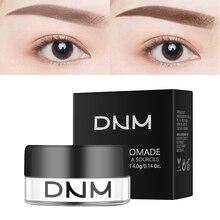 DNM 1 шт., натуральные помады для бровей, водостойкие стойкие усилители для бровей, макияж, шоколадный гель для бровей, тинт для бровей TSLM2
