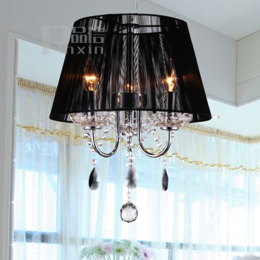 Fashion Drawing Crystal Pendant Bedroom Lamps Lighting