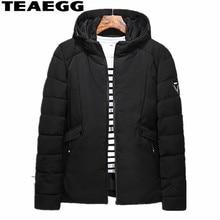 TEAEGG Casual Men's Winter Jackets Parkas Hombre Invierno Cotton Padded Man Clothing Manteau Hiver Homme Plus Size 7XL 8XL AL533