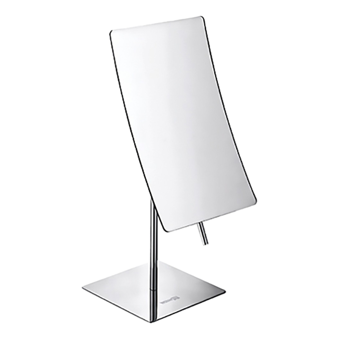 Magnifying mirror WasserKRAFT K-1006 20 led light touch screen make up mirror cosmetic stand mirror 10x magnifying black white