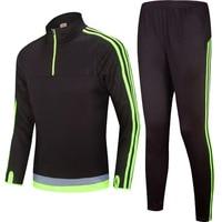 Spring Autumn Boys Soccer Jersey Kids Clothing Set Jacket Pant Basketball Football Tracksuit Boy S Maillot
