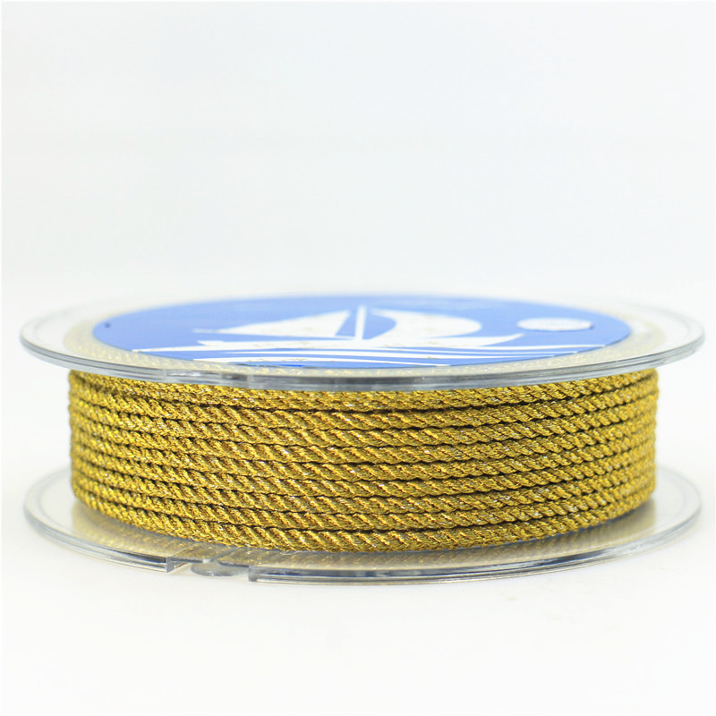 DIY 2mm wire milan cord Jewelry & packing & shoes rope Necklaces & Bracelets cords 4meters/roll