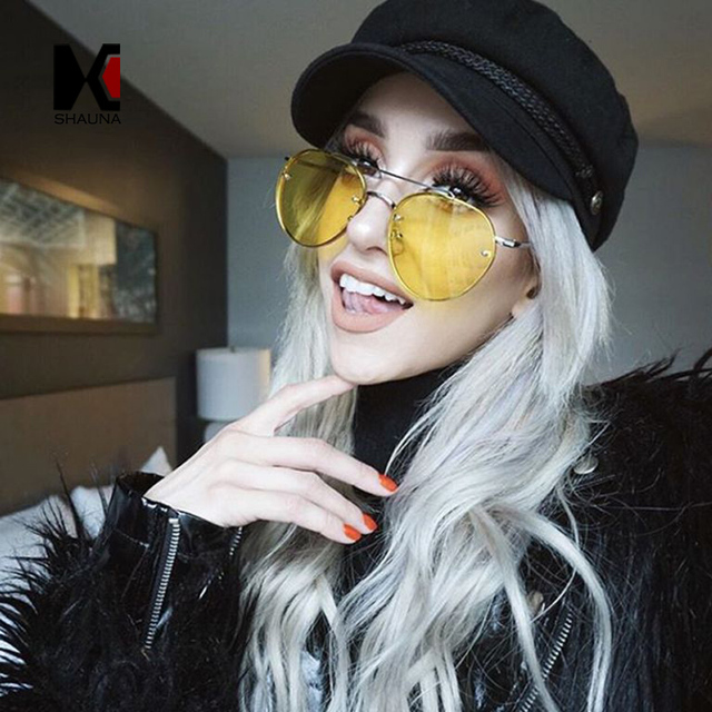 Buy Frame Round sunglasses trend for women pictures trends