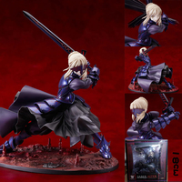 Fate/stay Night Saber Alter Vortigern 1/7 PVC Figure Model Toy Gift New In Box Action Figure Toys 7'' Collect Model Gift
