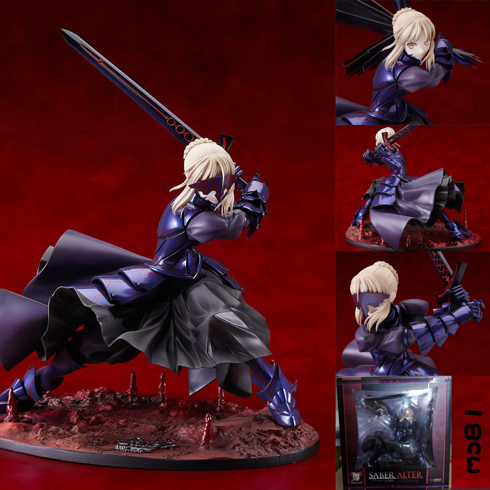 Fate/stay Night Saber Alter Vortigern 1/7 PVC Figure Model Toy Gift New In Box Action Figure Toys 7'' Collect Model Gift new fate grand order saber altria pendragon alter dress ver pvc action figure collection toys valentine s day gift for friends