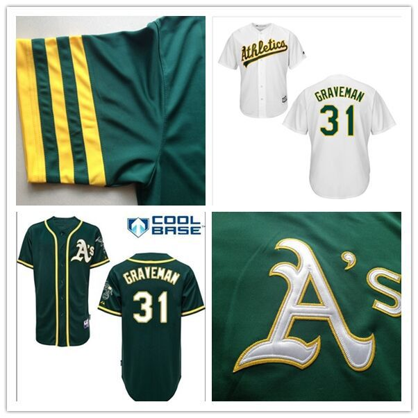 8ec30ea22 2015 New Arrival 31 Kendall Graveman jersey Customized Oakland Athletics  Baseball Jerseys cheap Authentic best buy direct china