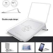 17 дюймов игровой ноутбук охлаждающая подставка тонкий двойной угол алюминиевый сплав подставка держатель для Apple ноутбук планшет D20