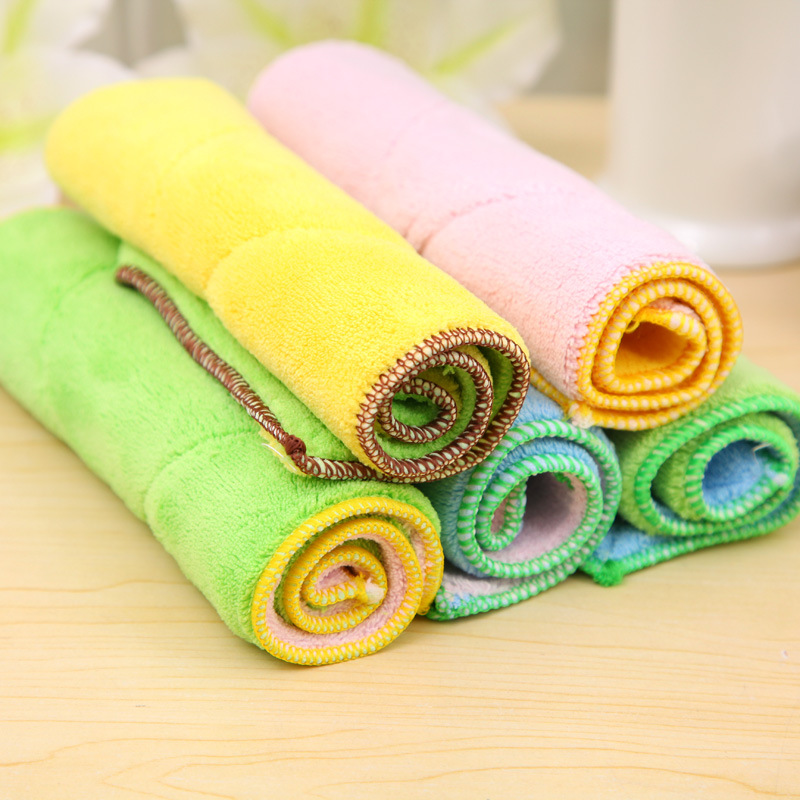 1Pcs Kitchen Dish Towel Soft Cotton Clean Towel Cloth Fabric Bulk Natural  Microfiber Cheap Tea Towels In Cleaning Cloths From Home U0026 Garden On ...