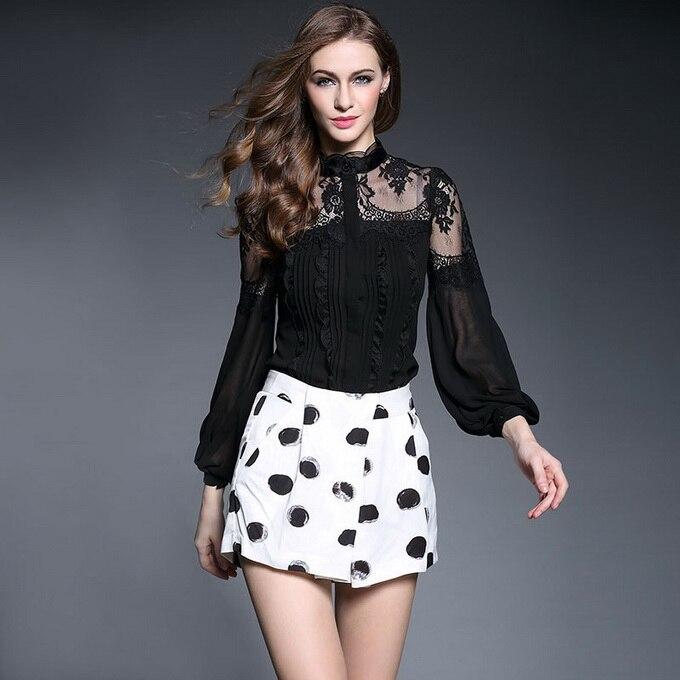 Yeni isti satılan bluzlar 2019 Bahar Yay Brendi Blusas Feminino Bluz - Qadın geyimi - Fotoqrafiya 4