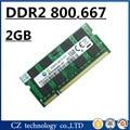 Продвижение 2 ГБ 4 ГБ ddr2 667 МГц pc2-5300 sodimm ноутбук, ddr2 ram 2 ГБ 667 dimm ноутбук, оперативной памяти ddr2 2 ГБ 800 мГц pc2-6400 sdram