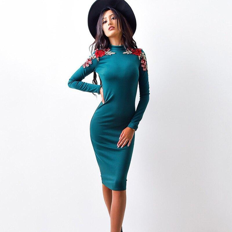 осень 2017 г. модные женские туфли плотное платье повседневное круглым