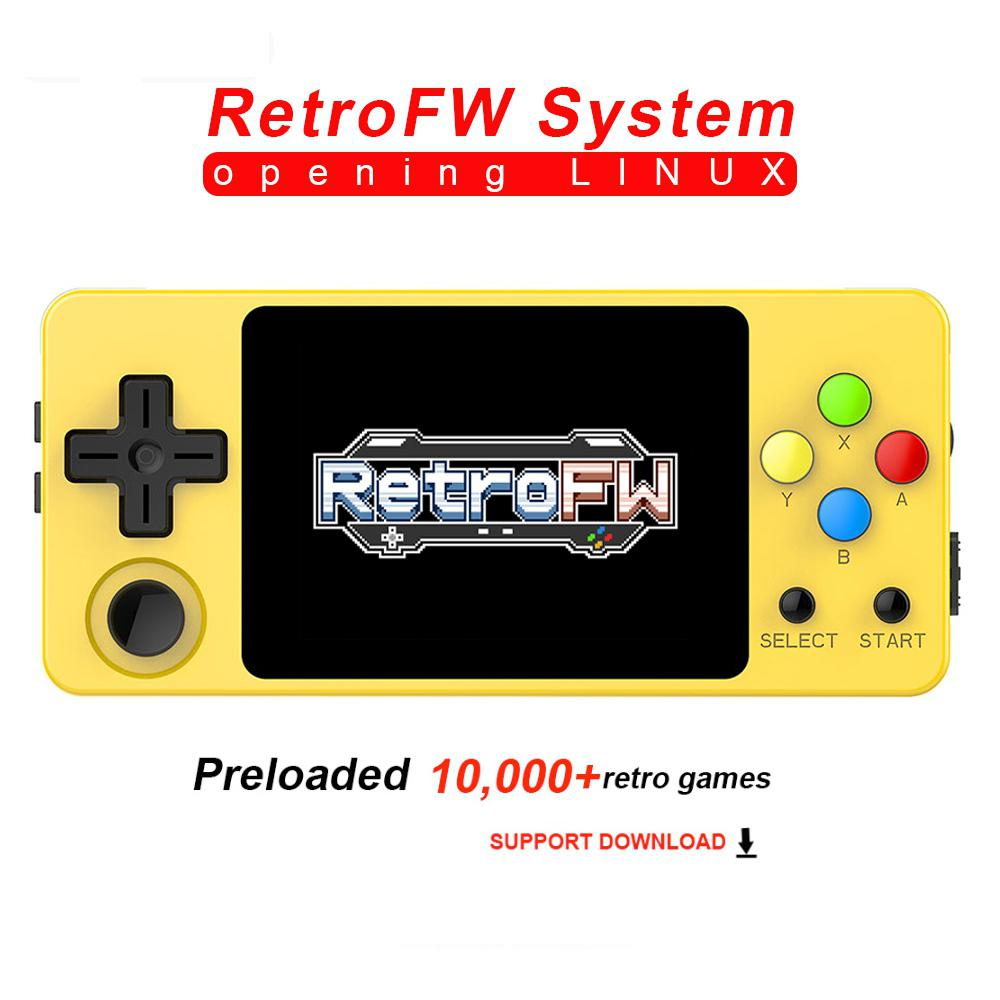 Kuulee  LDK Second Generation Game Console Video Game Retro Game Open Source Mini Handheld Family Gaming Consoles d25