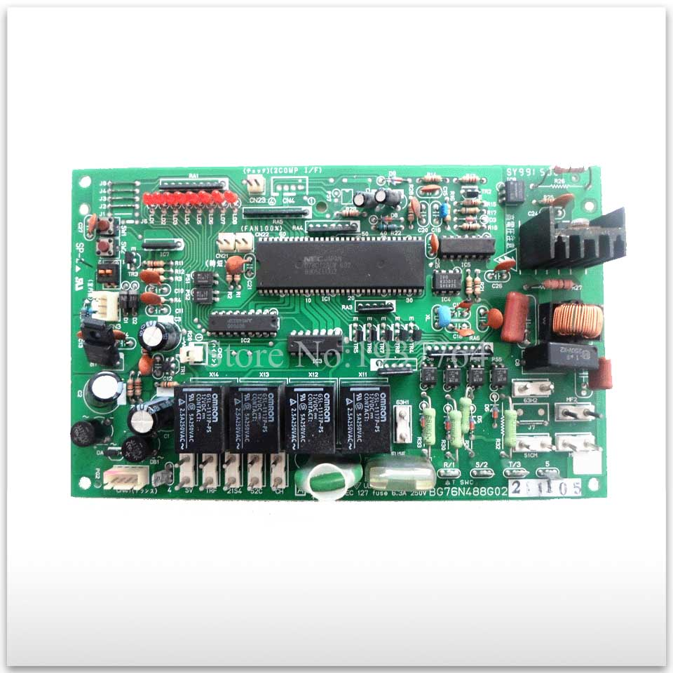 95% new used for Air conditioning computer board circuit board 3P/5P BG76N488G02 PSH good working original for tcl air conditioning computer board used board