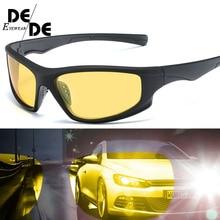 цены на 2019 New Polarized SunglasseS Men UV400 Anti-glare Sun Glasses Black PC Frame Outdoor Sport Goggles De Sol Gafas130  в интернет-магазинах