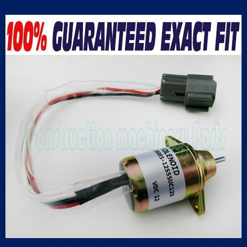 Fuel Shut Off Solenoid FOR Yanmar 119233-77932 Woodward 1503ES-12S5SUC12S