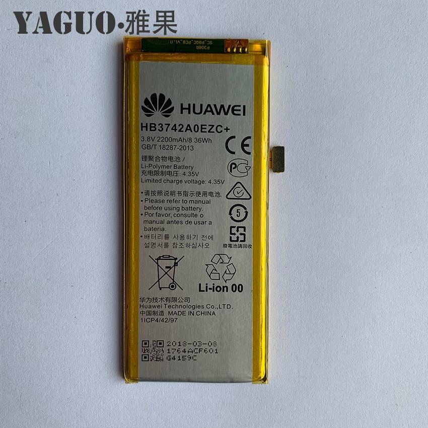 For Huawei Ascend P8 Lite Battery High Quality HB3742A0EZC+ 2200mAh Li-ion Battery For Huawei P8 Lite Smart Phone