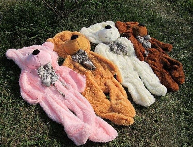 Очень мило огромный большой 200 см чучело мишки Обложка плюшевые мягкие игрушки куклы наволочка (без вещи) для маленьких детей Подарки для де...