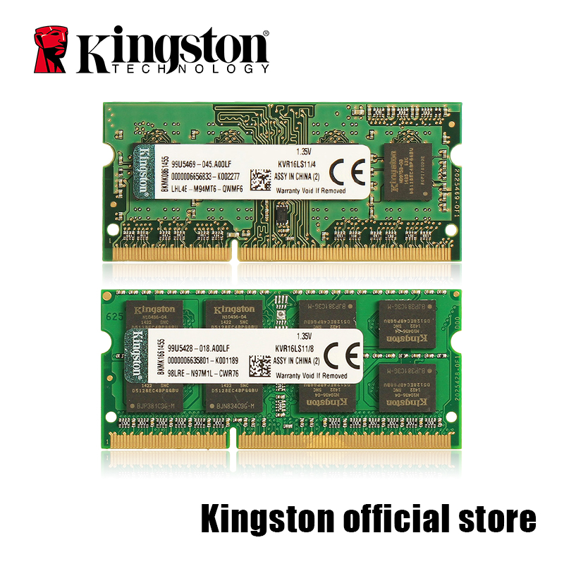 Kingston RAMS Laptop memory DDR3 1600MHZ 1.35V 4GB/8GB new laptop rams for lenovo g40 g50 y40 y50 y410p ddr3 1600mhz 12800s 4gb ram memory chip bar