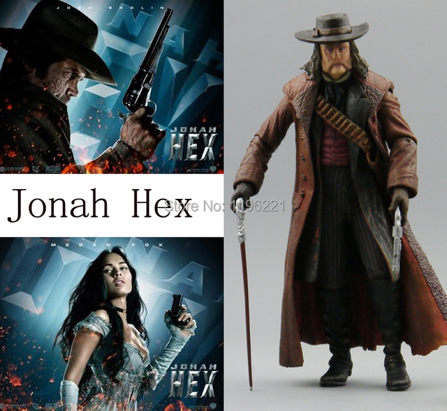 Free Shipping Out of print NECA Action Figure Western heroes Megan Fox Leila Josh Brolin Jonah Hex QUENTIN Turnbull
