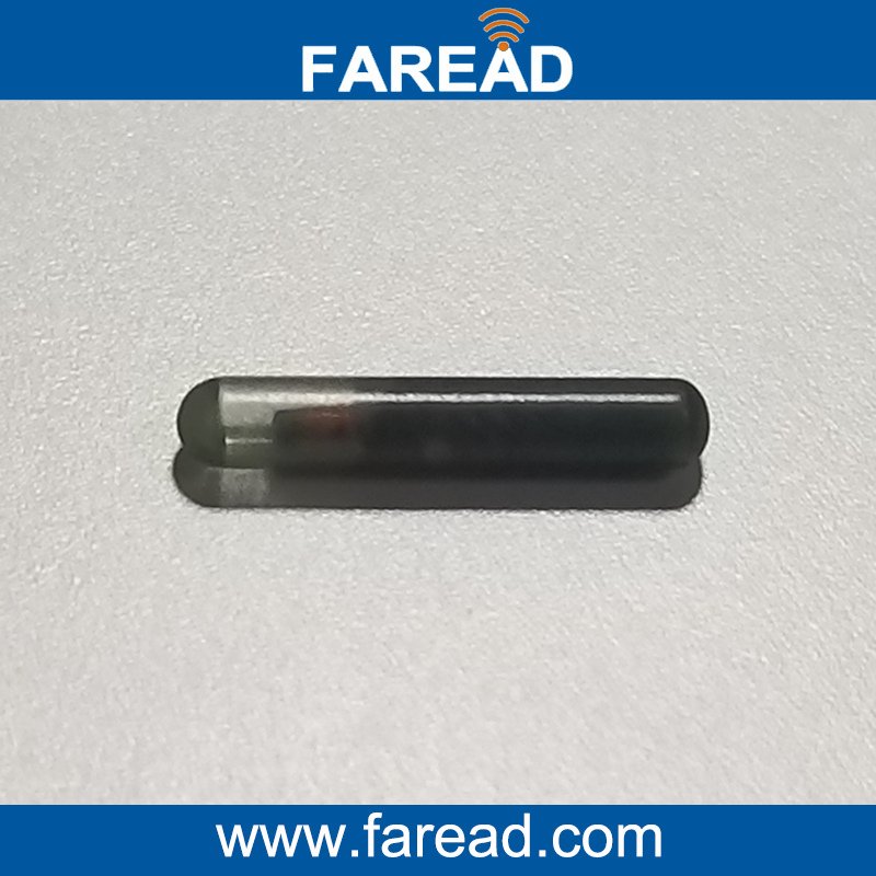 X100pcs Read And Write Glass Tag 2*12mm  Low Frenqueny 125Khz  T5577 Q5 UID Microchip Capsule