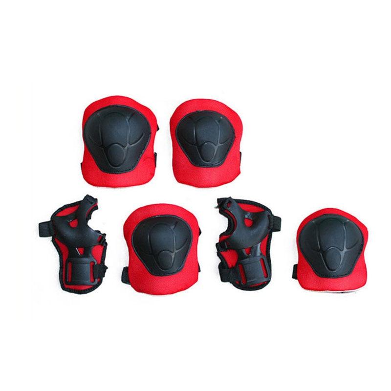 Knieschoner Giantree 6 Teile/satz Knie Pads Ellenbogen Pads Handgelenk Beschützer Kinder Kinder Roller Skate Skating Knie Ellenbogen Palm Protektoren Schutz