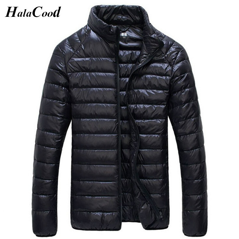 Hot New Casual Brand Wram Duck Down Jacket Men Autumn Winter Warm Coat Mens Ultralight Duck Down Jacket Male Windproof Parka