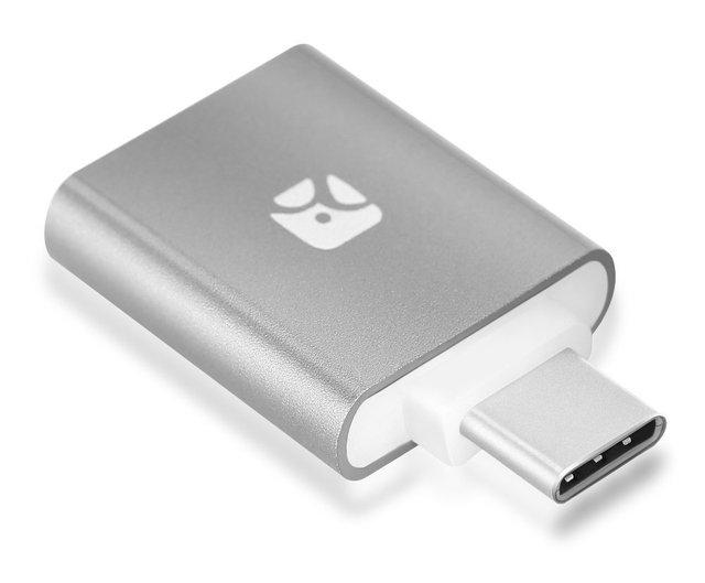 Meenova Traço Tipo-C: Mini Leitor de Cartão MicroSD OTG com Capa de Silicone, para nexus 6 p/5, macbook 2015, lg g5, zuk z1, xiaomi, letv, meizu