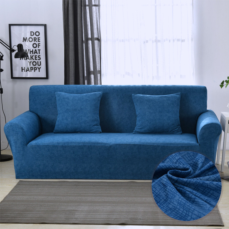 Универсальные чехлы для диванов для гостиной, эластичные чехлы для диванов, растягивающиеся чехлы для мебели, секционные Чехлы для диванов, copridivanoПокрывало на диван   -